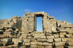 Vista superior del templo de Jago imagenes de archivo