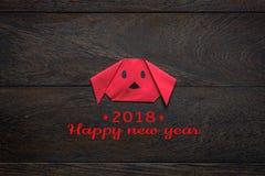 A vista superior disparou do ano novo chinês da decoração do arranjo & do feriado lunar fotografia de stock