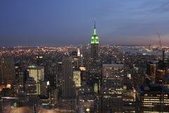 Vista superior do império Foto de Stock