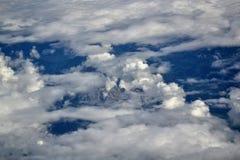 Vista superior do nuvens imagens de stock royalty free