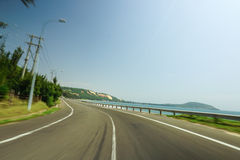 Vista superior na cidade Vietnam do dalat Imagem de Stock