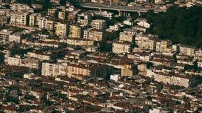 Vista superiore dalla città di Smirne archivi video