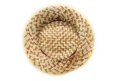 Vista superiore del cappello del sole Fotografie Stock