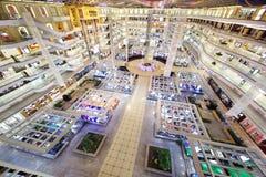 Vista superiore del centro di commercio della mobilia del Louvre Fotografia Stock