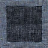 Vista superiore del fondo blu del tovagliolo di tela Immagine Stock Libera da Diritti