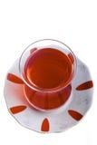 Vista superiore del tè turco fotografia stock libera da diritti