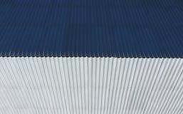 Vista superiore del tetto di ardesia della casa Materiale di tetto dell'ardesia Fotografia Stock Libera da Diritti