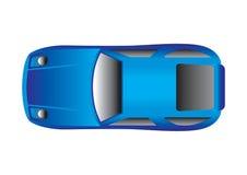 Vista superiore dell'automobile sportiva Immagine Stock Libera da Diritti