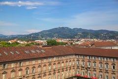 Vista superiore della città Fotografia Stock Libera da Diritti