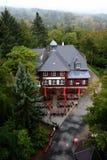 Vista superiore della foresta di autunno Fotografie Stock