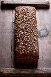 Vista superiore della pagnotta del pane Fotografie Stock