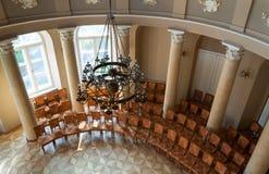 Vista superiore della sala da concerto Immagine Stock