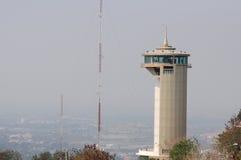 vista superiore della torre di paesaggio urbano in Tailandia nakornsawan Fotografia Stock
