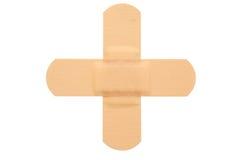 Vista superiore di band-aid Immagini Stock Libere da Diritti