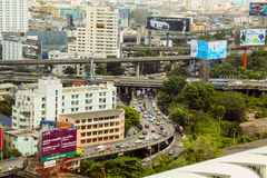 Vista superiore di Bangkok Immagine Stock Libera da Diritti