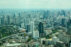 Vista superiore di Bangkok Fotografie Stock Libere da Diritti