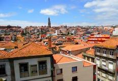 Vista superiore di Oporto Fotografia Stock