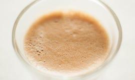 Vista superiore di un colpo di caffè espresso immagine stock libera da diritti
