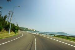 Vista superiore nella città Vietnam del dalat Immagine Stock