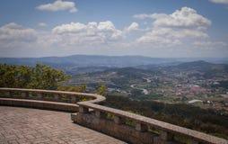 Vista superiore Portogallo della montagna Immagine Stock Libera da Diritti