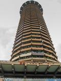 Vista superiore sulla torre di orologio nel centro direzionale di Nairobi Fotografia Stock