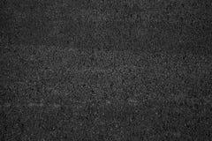 Vista superiore urbana scura della strada asfaltata immagine stock libera da diritti