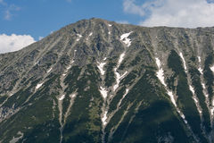 Vista surpreendente ao pico de Todorka, montanha de Pirin Imagens de Stock Royalty Free