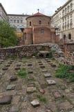 Vista surpreendente de St George Rotunda da igreja em Sófia, Bulgária Imagem de Stock