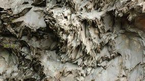 A vista surpreendente do basalto balança na zona aberta fotografia de stock royalty free