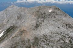 A vista surpreendente a Kutelo repica, montanha de Pirin Foto de Stock Royalty Free