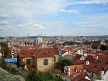 Vista surpreendente na cidade de Praga Fotografia de Stock Royalty Free