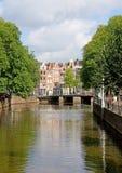 Vista típica de Amsterdão 3 imagem de stock royalty free