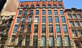 Vista típica del apartamento residencial en Manhattan Nueva York Fotografía de archivo