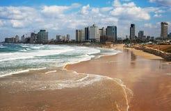 Vista a Tel Aviv Fotografía de archivo