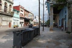 Vista tipica della via a Avana Immagini Stock Libere da Diritti