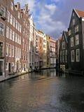 Vista tipica di Amsterdam Fotografie Stock Libere da Diritti