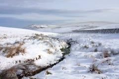 Vista tipica di inverno Fotografia Stock Libera da Diritti