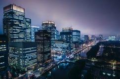 Vista a Tokyo Immagini Stock Libere da Diritti