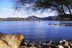 Vista Tont del lago canyon Fotografie Stock Libere da Diritti