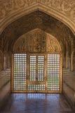 Vista tramite uno schermo, fortificazione di Agra Immagine Stock Libera da Diritti