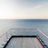 Vista tranquilla del mare Fotografie Stock