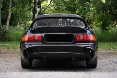 Vista traseira de um carro desportivo Imagens de Stock Royalty Free