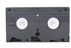 Vista traseira do video tape do VHS fotografia de stock royalty free