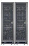 Vista trasera de servidores Imagen de archivo