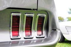 Vista trasera del coche de deportes Imágenes de archivo libres de regalías