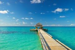 Vista tropical Fotos de Stock Royalty Free