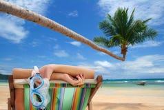 Vista tropicale fotografia stock libera da diritti