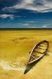 Vista tropicale della spiaggia Fotografia Stock