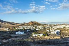 Vista a Uga, villaggio rurale Fotografie Stock