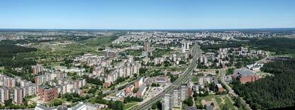 Vista urbana della città Fotografia Stock Libera da Diritti